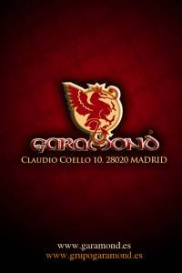 New Garamond Madrid
